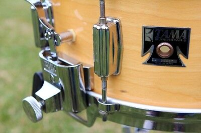 TAMA SUPERSTAR 1980's KINGBEAT SNARE DRUM 6.5 DEEP - HIGHLY COLLECTABLE