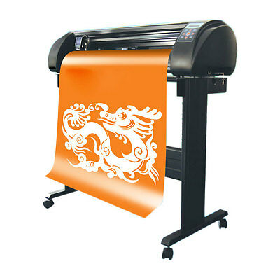 "29.5"" Automatic SIGNKEY Vinyl Cutter Plotter with Contour Cutting + Bluetooth"