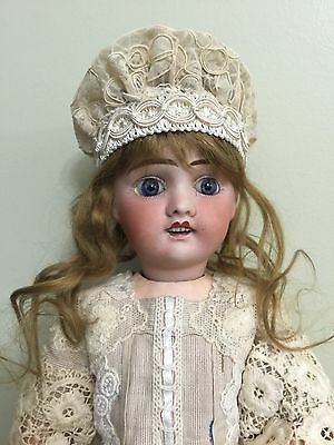"""Antique Doll French Jules Verlingue Bisque On A Comp Body 17"""""""