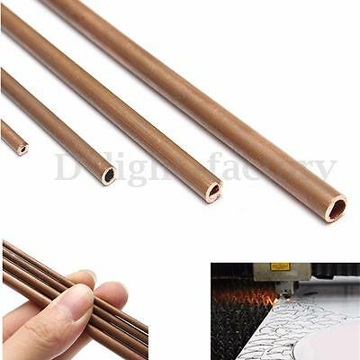 Copper Tubes 2mm - 5mm Internal Diameter 300mm Long Plumbing Pipe/Tube DIY Rod