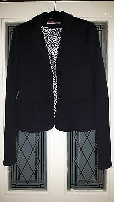 Girls Black Peplum Blazer FREESPIRIT - age 15-16 Years