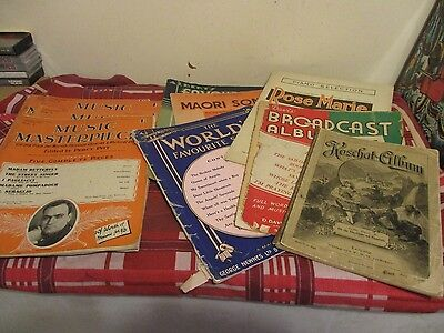 Vintage Music Sheets And Books