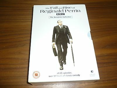 The Fall and Rise of Reginald Perrin dvd the complete collection region 2