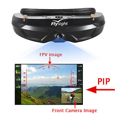 Flysight SPX02 FPV Goggles Built-in 5.8G Diversity Receiver with PIP