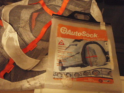 Auto Sock Size 54 - The original Snow Sock for Cars