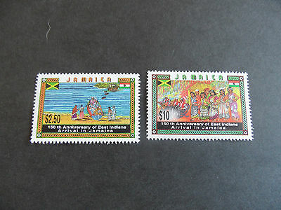 Jamaica 1996 Sg 894-895 150Th Anniv Of Indian Immigration Mnh