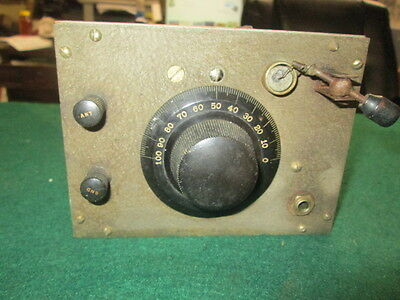 RCA Crystal Receiver Type B Early Radio Estate Find