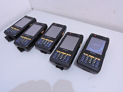 5 x Bluebird Pidion BIP-6000 F Handheld Computer Scanner no batteries / charger