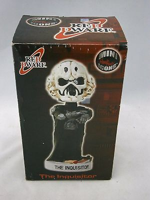 Red Dwarf Hand Painted Bobble Head Doll The Inquisitor Boxed Sculptured Art