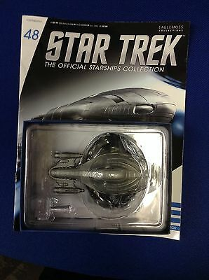 Star Trek Official Starship Collection #48 Armored U.S.S. Voyager by Eaglemoss