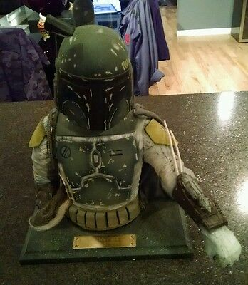 BOBA FETT LATEX BUST produced by ILLUSIVE CONCEPT Star Wars Serial #2600/10,000