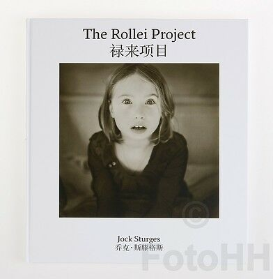 """""""the Rollei Project"""" By Jock Sturges / Signed Book In English And Chinese"""