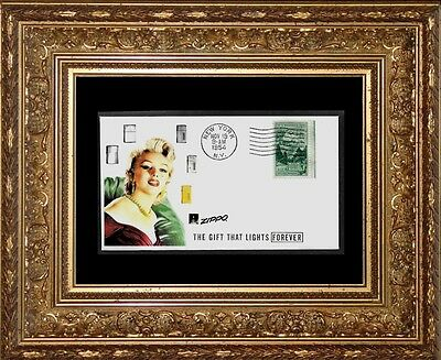 1950s Zippo Lighter & Marilyn Monroe Ad Featured on Collector's Envelope *Z539
