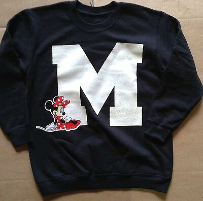 Girl's Disney Minnie Mouse Sweatshirt Tops 7-8 Years