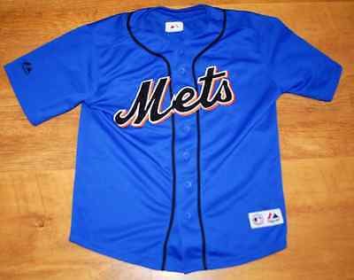"""Majestic New York Mets """"Wright' shirt (For age 10/12)"""