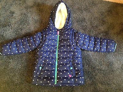 Girls Boden Coat Age 7-8 Excellent Condition
