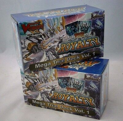 2 x Cardfight Vanguard Rise To Royalty Mega Trial Card Decks Sealed VGE-MTO1