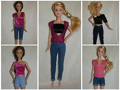 Handmade Barbie Doll Clothes (No Doll)