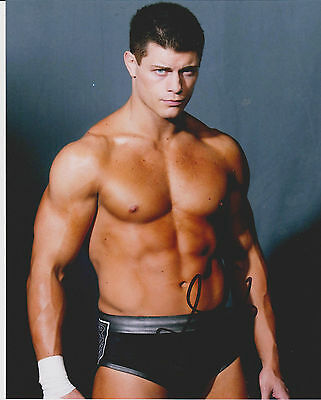 WWE Cody Rhodes Hand Signed 8X10 Photo *AUTOGRAPH W/PROOF*