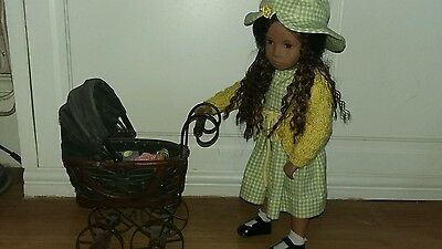 Vintage Sasha Doll Sized Dolls Pram
