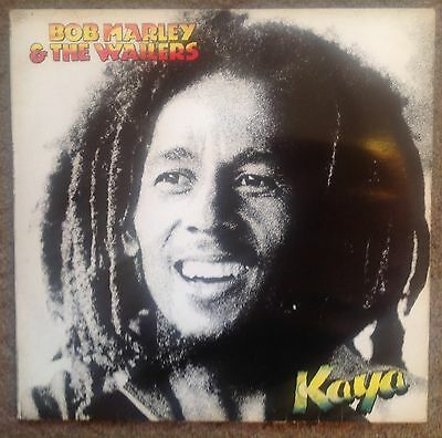 Rare Bob Marley And The Wailers KAYA Vinyl LP Island Records 1978 Jonz/dead wax