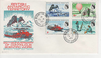 British Antarctic Territory - 1969 First Day Cover -