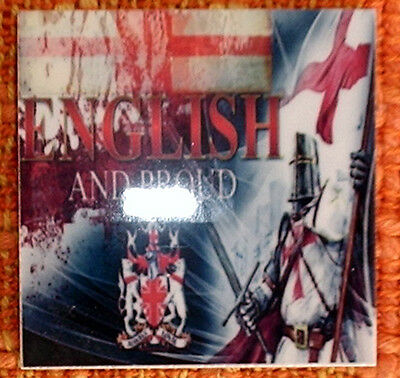 English and Proud - England shield and FLAG beautiful MICRO CERAMIC TILE