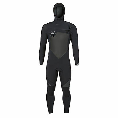 Quiksilver Wetsuits - Quiksilver Syncro 5/4/3mm 2017 Hooded Chest Zip Wetsuit