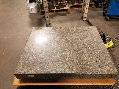 30 x 36 x 4 in. Gray Granite Surface Plate (Inv.36447)