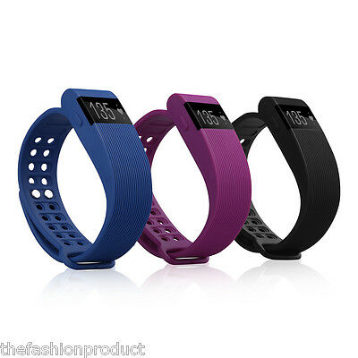Heart Rate Smart Bracelet Pedometer Sleep Monitor Remote Capture for Android iOS