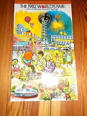 Vintage 1982 Worlds Fair Stationary Knoxville Tennessee note pad 24 pages