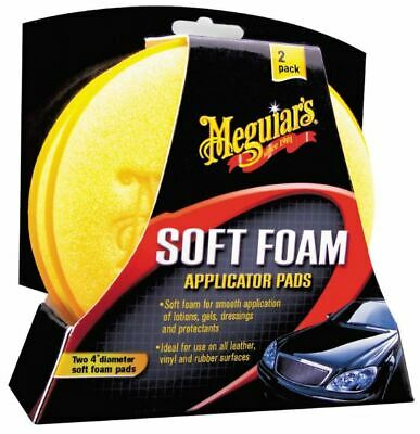 "Meguiars Schaumstoff Schwamm ""Soft Foam Applicator Pads"" (2er Pack) X3070"