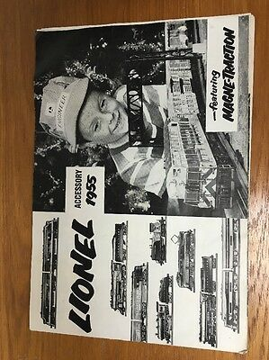 Lionel 1955 Catalog with Layout Planner Booklet