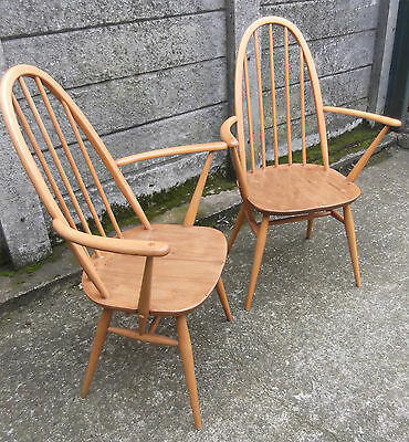 Fine  Pair Of Ercol Quaker Armchairs- Very Clean Condition, Delivery Available