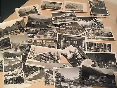 Large Lot (50+) Vintage Postcards of Switzerland - Real Photos - Some Rare