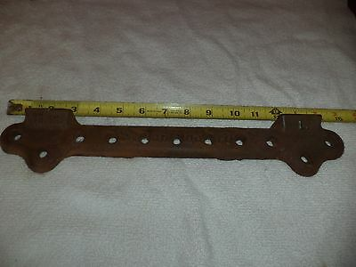 "Vintage STANDARD 15"" Cast Iron WALL MOUNT SINK BRACKET , SUPPORT Antique restore"