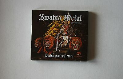 Swabia Metal Compilation Vol. 1 - Barbarossa's Return GER Digipak CD 2015 Sealed