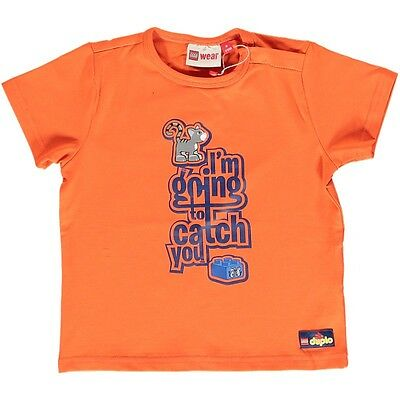 Lego Wear Duplo T-Shirt Jungen Orange Gr. 80,86