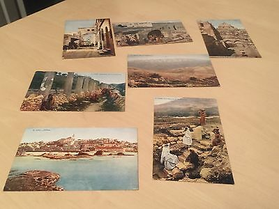 Small Lot of Vintage Celesque Series Postcards of the Middle East