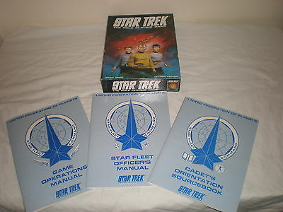 STAR TREK THE ROLE PLAYING GAME 1983 Games Workshop TOS 1980s - COMPLETE