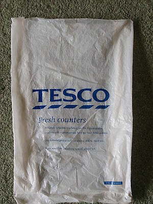 Vintage/ Collectable -  'Tesco'  Small Plastic Bag