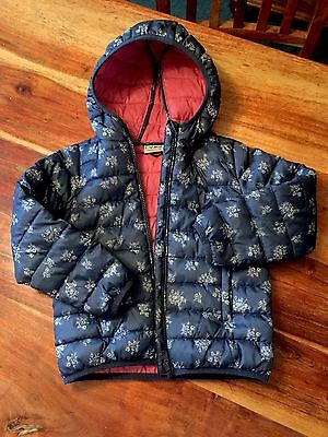 Girls Next Puffa Style Jacket School Christmas Present Age 6 Years