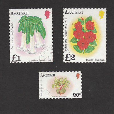 Ascension 1981 Plants Stamps To £2 In Very Fine Condition