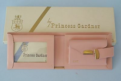 Vintage Princess Gardner Pink Leather Billfold Wallet ~ New in Box