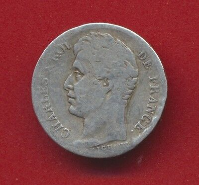Charles X – 1/2 Franc – 1830 W – Lille