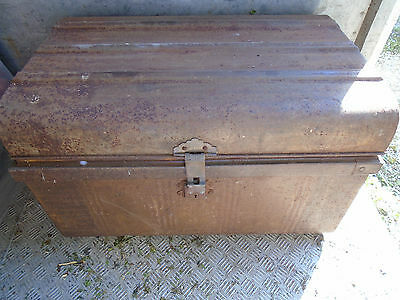 Old Metal Storage Chest
