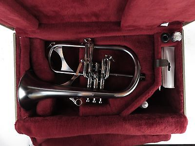 Phaeton 2800 Black and Copper Flugelhorn with Case flugel phtf [118458]
