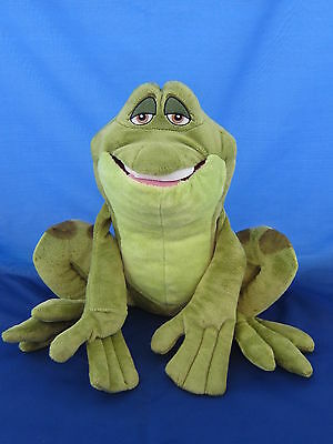 Disney Frog Princess Naveen The Frog 12 Inch Beanie Soft Toy