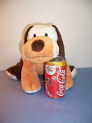 """Ty Pluffies Dog - Whiffer The Pup - Large - Brown/white/tan - 12""""  2004 Vgc"""