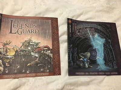 Mouse Guard Legends Of The Guard Comic Book 1, 2, 3, And 4